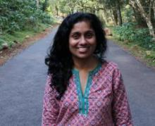 photo of professor sharada srinivasan