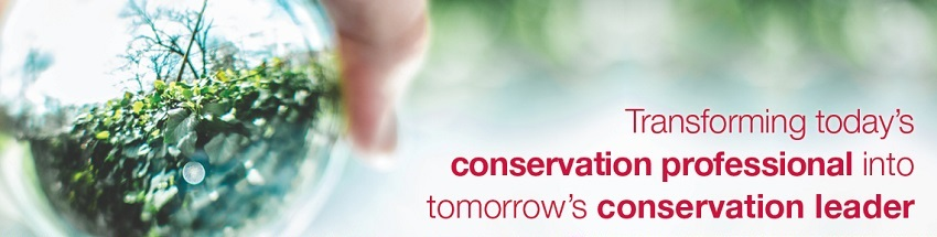 Transforming today's conservation professional into tomorrow's conservation leader