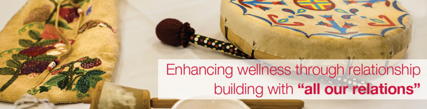 Enhancing wellness through relationship building with 'all our relations'