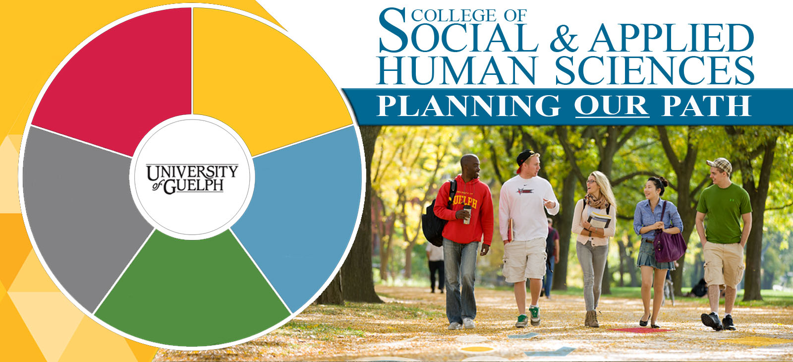 "CSAHS Strategic Planing Image - ""College of Social and Applied Human Sciences - Planning our Path"""