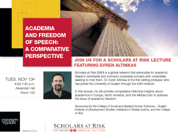 presented by the university of guelph and scholars at risk network canada section