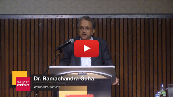 Watch the 2019 Hopper Lecture by Ramachandra Guha on YouTube