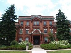 Photo of Macdonald Institute Building (Spring)
