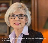 Beverly McLachlin photo credit: The supreme court of Canada and Roy Grogan