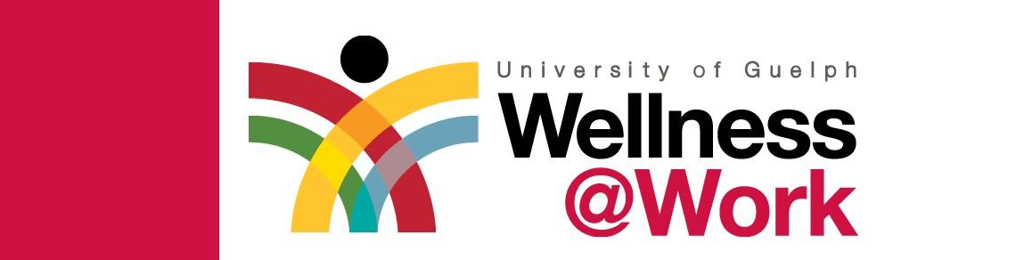 University of Guelph Wellness at work logo