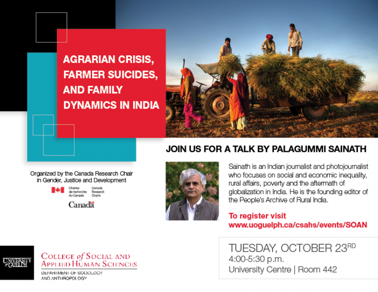 Agrarian Crisis, Farmer Suicides, and Family Dynamics in India.