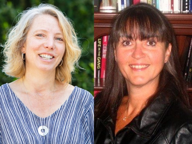 Dr. Robin Roth (left) and Dr. Myrna Dawson (right)